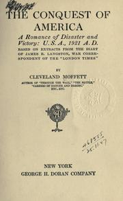 Cover of: The conquest of America