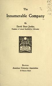 Cover of: The innumerable company