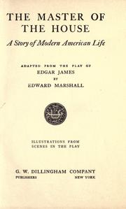 Cover of: The master of the house