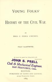 Cover of: Young folks' history of the Civil War