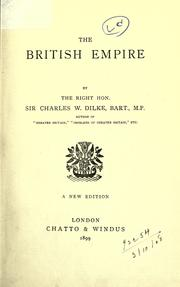 Cover of: The British Empire