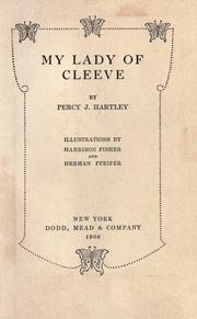 Cover of: My lady of Cleeve
