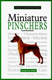 Cover of: A New Owner's Guide to the Miniature Pinscher (New Owners Guide)