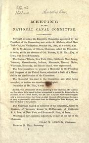 Cover of: Memorial to the president and Congress of the United States