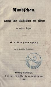Cover of: Rundschau