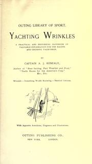 Cover of: Yachting wrinkles