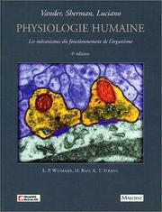 Cover of: Physiologie humaine by Arthur J. Vander