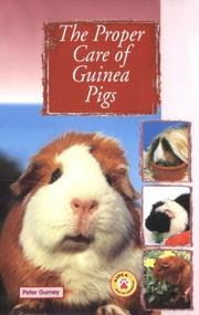 Cover of: Proper Care of Guinea Pigs (Proper Care of...Series)