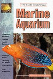 Cover of: The Guide to Starting a Marine Aquarium (Aquatic)