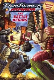 Cover of: Transformers Armada:The Battle Begins