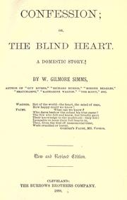 Cover of: Confession, or, The blind heart