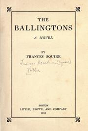 Cover of: The Ballingtons