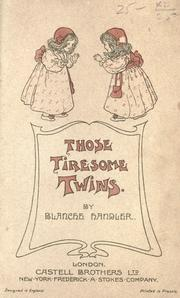Cover of: Those tiresome twins