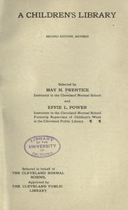 Cover of: A children's library