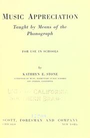 Music appreciation taught by means of the phonograph, for use in schools