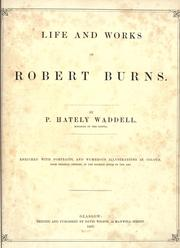 Cover of: Life and works