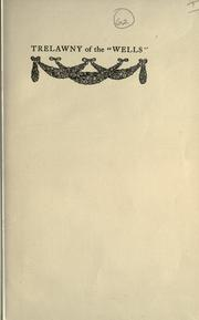"Cover of: Trelawny of the ""Wells"" by Pinero, Arthur Wing Sir"