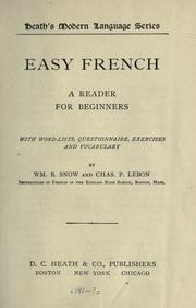 Cover of: Easy French
