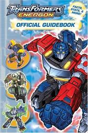 Cover of: Transformers Energon Offical Guidebook | Michael Teitelbaum