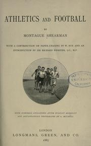 Cover of: Athletics and Football