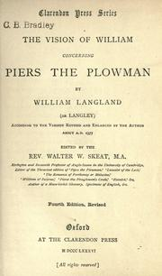 Piers the Plowman by William Langland