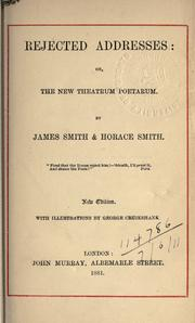 Rejected addresses by Smith, James