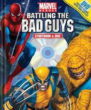 Cover of: Marvel Heroes Battling the Bad Guys Book and DVD