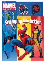 Cover of: Marvel Heroes Swinging into Action