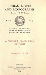 Cover of: A wooden image from Kentucky