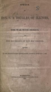 Cover of: Mexican letters written during the progress of the late war between the United States and Mexico