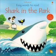 Cover of: Shark in the Park (Easy Words to Read) | Phil Roxbee Cox