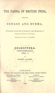 Cover of: Coleoptera
