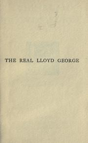 Cover of: The real Lloyd George