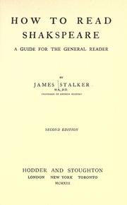 Cover of: How to Read Shakespeare: a guide for the general reader