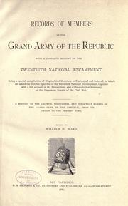 Cover of: Records of members of the Grand Army of the Republic |