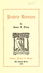 Cover of: Prairie breezes