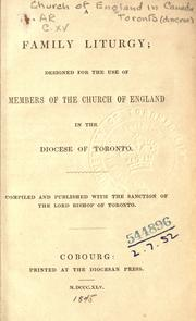 Cover of: A family liturgy