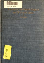 Cover of: Exploits of the Signal corps in the war with Spain