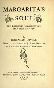 Cover of: Margarita's soul