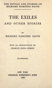 Cover of: The exiles, and other stories