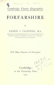 Cover of: Forfarshire