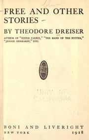 Cover of: Free