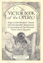 Cover of: The Victor book of the opera by