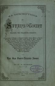 Cover of: Description of Satan's court, treating the following subjects