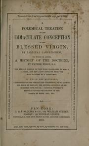 Cover of: A polemical treatise on the Immaculate Conception of the Blessed Virgin