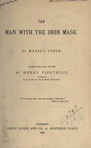 Cover of: The man with the iron mask