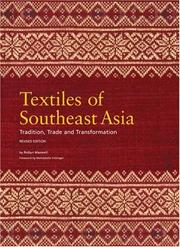 Cover of: Textiles of Southeast Asia