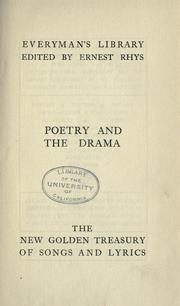 Cover of: The new golden treasury of songs and lyrics