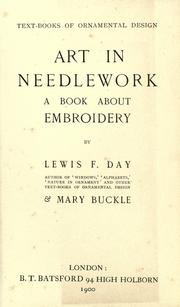 Cover of: Art in needlework by Lewis Foreman Day
