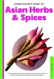 Cover of: Handy Pocket Guide to Asian Herbs & Spices (Periplus Nature Guides)